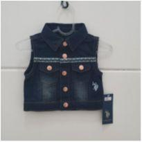 Coletinho jeans POLO - 1 ano - US Polo Assn