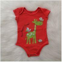 Body girafinha - 3 meses - etiqueta foi cortada