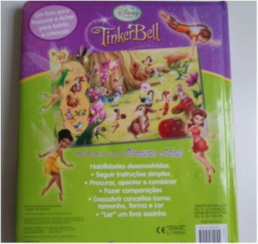"""Livro """"Tinker Bell"""" - para bebês e crianças - Sem faixa etaria - Livros"""