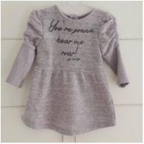 Vestido inverno mega fofo - 9 a 12 meses - Up Baby