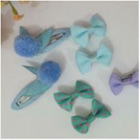 Kit lacinhos (bico de pato e tic-tac) pequenos -  - Feito à mão