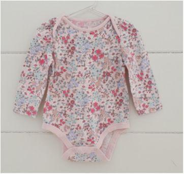 Body floral GAP - 12 a 18 meses - Baby Gap