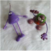 Desocupando o armário de brinquedos - dupla articulada -  - Mc Donald`s
