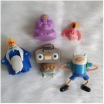 Desocupando o armário de brinquedos -  Lote personagens cartoon -  - Diversas
