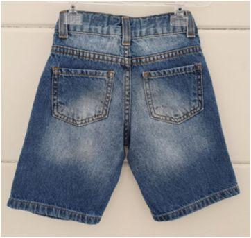 Bermudinha jeans - 12 a 18 meses - Baby Way