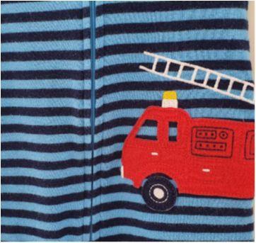 Macacão bombeiro CARTERS - 1 ano - Carter`s