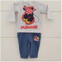 Conjuntinho Minnie - 0 a 3 meses - Disney