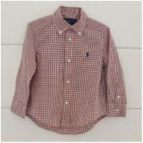 Camisa Ralph Lauren - original - 2 anos - Ralph Lauren