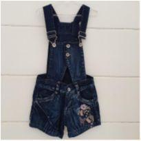 Jardineira jeans linda! - 9 anos - LB Kids