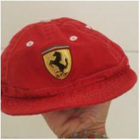 Boné Ferrari, comprado em Orlando na loja oficial =) - 1 ano - Ferrari