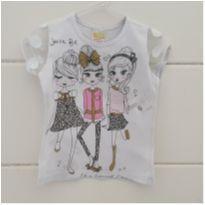 Camiseta menininhas - 3 anos - Dominó Kids