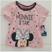 Camisetinha Minnie - NOVA - 2 anos - Disney
