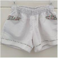 Shorts floral lindo - 9 anos - Marca não registrada