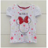Camisetinha Minnie - NOVA - 4 anos - Disney