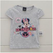 Camiseta MINNIE - NOVA - 1 ano - Disney