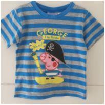Camisetinha George comprada em Miami - 3 anos - Peppa Pig