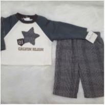 Conjuntinho Calvin Klein - 3 a 6 meses - Calvin Klein