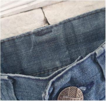 Calça Jeans - 4 anos - etiqueta foi cortada