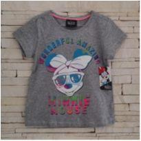 Camisetinha Minnie - NOVA - 5 anos - Disney