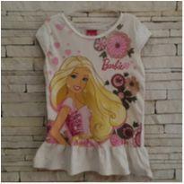 Camisetinha Barbie - 6 anos - Malwee