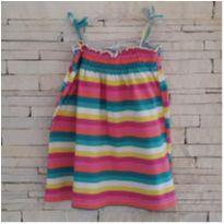 vestido colorido bem verão - 3 anos - TeK