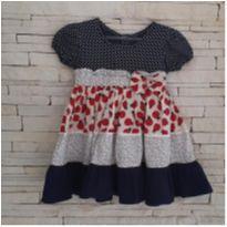 Vestido joaninhas - 1 ano - puzzle