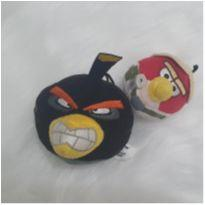 Mini pelúcias angry birds -  - Mc Donald`s
