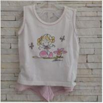 Pijama menininha - 5 anos - etiqueta foi cortada