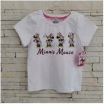Camiseta Minnie  - Nova, com etiqueta =) - 5 anos - Disney