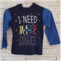Camiseta manga longa planetas - 4 anos - T e K