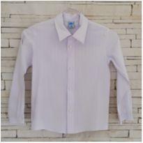 Camisa branca impecável - 6 anos - MR Kids
