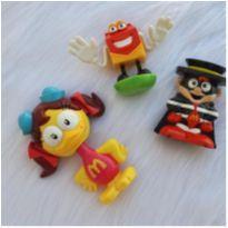 Desocupando armário de brinquedos - Lote personagens Mc donalds -  - Mc Donald`s