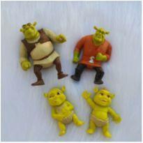 Desocupando armário de brinquedos - Lote 1 Shrek -  - Mc Donald`s