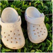Crocs com glitter - comprado em Orlando