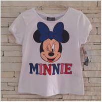 Camiseta Minnie Tam. 5 anos menina - 5 anos - Disney
