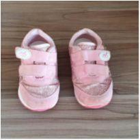 Tênis rosa com glitter - 22 - VIA VIP