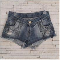 Shorts jeans - 8 anos - Mell Four