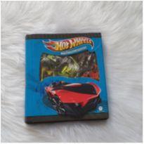 Caixa com 9 mini livros hot wheels -  - Ciranda Cultural