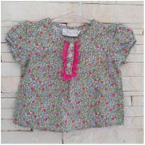 Blusa floral - 6 meses - EPK