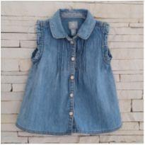 Blusa jeans GAP - 3 anos - Baby Gap