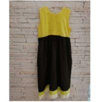 Vestido amarelinho 6 anos