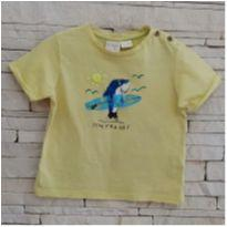 Camiseta tubarão ZARA - 12 a 18 meses - Zara Baby