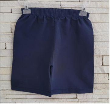 Shorts levinho azul - 4 anos - etiqueta foi cortada