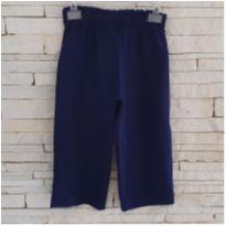 Calça azul - 9 a 12 meses - etiqueta foi cortada