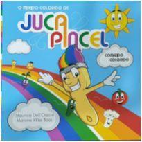Livro - Juca pincel comendo colorido -  - Livros