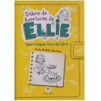 Livro - Diário de aventuras da Ellie - Uma viagem fora de série -  - Ciranda Cultural