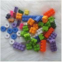 Brinquedo de encaixe 48 peças -  - etiqueta foi cortada