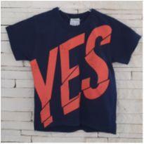 Camiseta YES - 2 anos - Marca não registrada