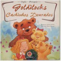 Livro - Cachinhos dourados em inglês e português -  - Ciranda Cultural