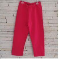 Calça pink - 5 anos - etiqueta foi cortada